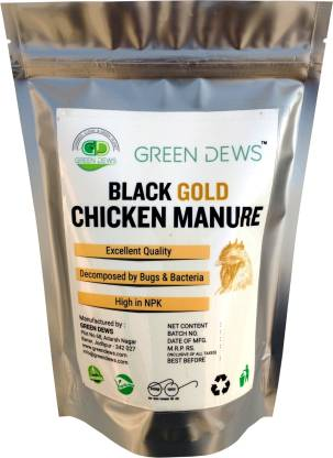 green dews Chicken Manure fully decomposed Manure
