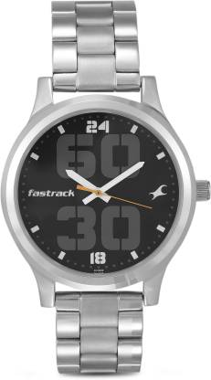 Fastrack 38051SM07 Bold Fonts Analog Watch - For Men