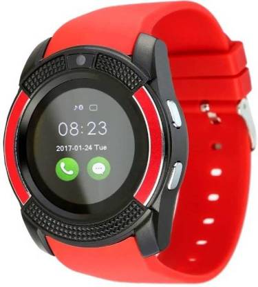 mobicell v9_red Fitness Smartwatch