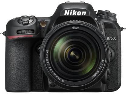 NIKON D7500 DSLR Camera Body with 18-140 mm Lens