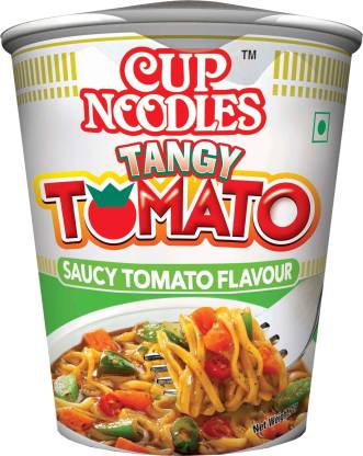 Nissin Tangy Tomatao Cup Noodles Vegetarian