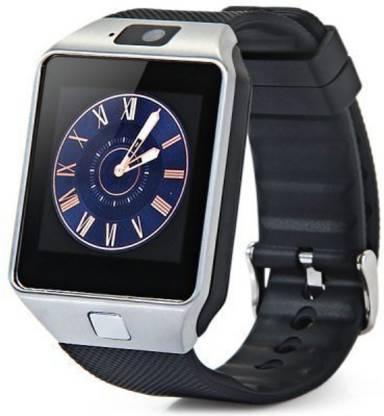 Hypex DZ09 Smart Bluetooth Wrist Watch Smartwatch(Black Strap, Free)