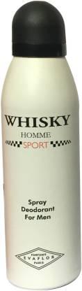 WHISKY SPORT (PACK OF 1) Deodorant Spray  -  For Men