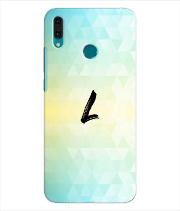 XPRINT Back Cover for Huawei Y9 2019 - Alphabet L