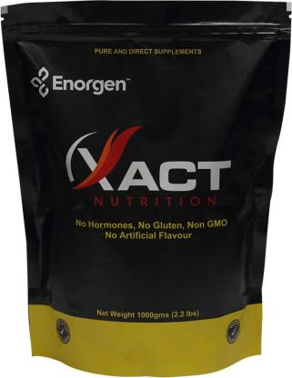 Enorgen XACT Nutrition - Whey Protein Conc 80% - Ready to Use ( 1000 gms, Unflavoured ) Whey Protein