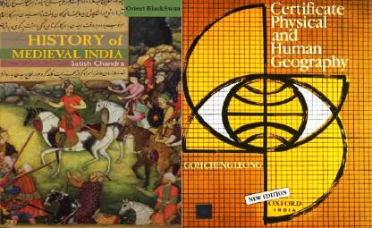 Best Book For Upsc Satish Chandra History Of Medieval India, Certificate Physical And Human Geography, English Medium, Paper Back Best Book For Civil Services, UPSC,IAS,IPS EXAM Bihar Psc,psc Exam