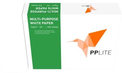 PP Lite PP Lite 70 gsm 5 reams Unruled A4 70 A4 paper