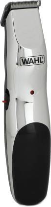 Wahl 09916 1724 Runtime: 60 min Trimmer for Men Silver  Wahl Trimmers