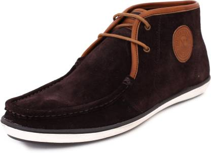 TMSELI7 Boat Shoes For Men(Brown)