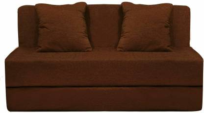 Aart Store Sofa Cum Bed 3x6 Feet One Seater Sleeps & Comfortably Mechanism Type Fold Out Sofa Brown Color Single Sofa Bed