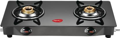 Pigeon Brunet Glass, Stainless Steel Manual Gas Stove