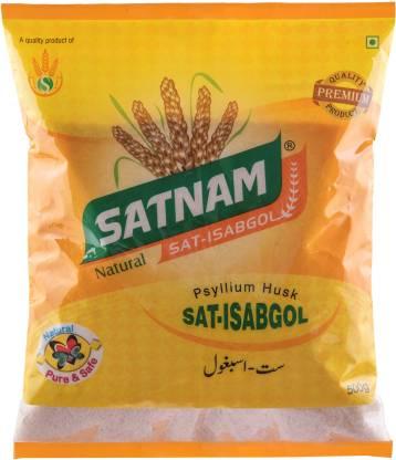 SATNAM Sat-Isabgol Psyllium Husk 500g Pouch