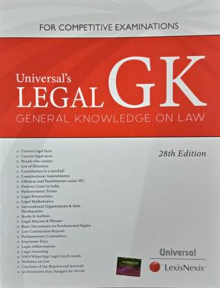 Universals Legal GK Genral Knowledge on Law 28th Edition