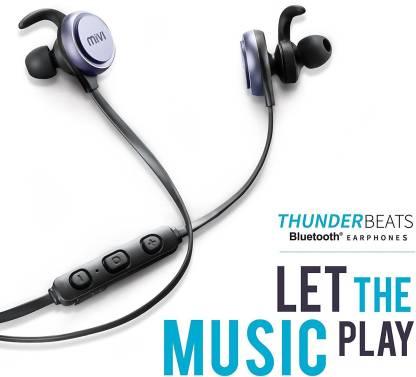 Mivi Thunder Beats Bluetooth Headset with Mic