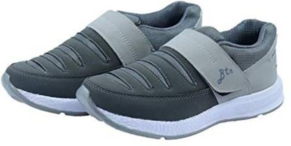 BLACKTOWN Loafers Style Casual Running Shoes for Men Grey Walking Shoes For Men