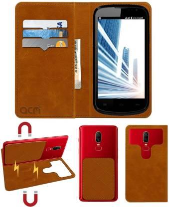 ACM Flip Cover for Lava Iris 458q