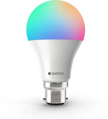 Smitch WI-FI RGB - (7W) B22 BASE Smart Bulb