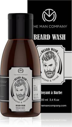 THE MAN COMPANY Beard Wash - Almond and Thyme