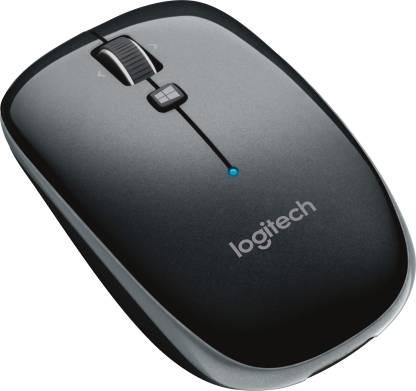 Logitech M557 Wireless Optical Mouse USB, Black  Logitech Mouse