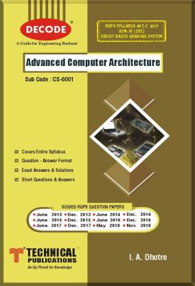 DECODE-Advanced Computer Architecture for RGPV (SEM-VI CSE) R-17