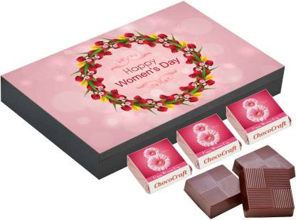 CHOCOCRAFT Women's day gift ideas for employees, 9 Chocolate Gift Box, Gift chocolate boxes Truffles