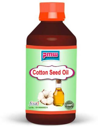PMW Pure Cotton Seed Oil - 100 Ml - Cold Pressed - 100 Percent Natural