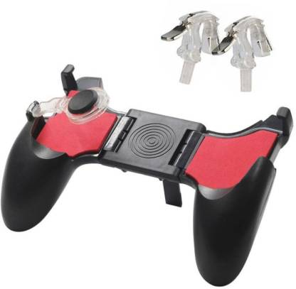 Anweshas Premium Quality PUBG Mobile Phone 5 IN 1 Gamepad Foldable Controller Shooter Gaming Button Handle/Mobile Phone Stent Trigger with L1 R1 Fire Shooter Buttons Trigger Handle  Gaming Accessory Kit