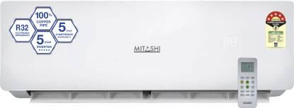 MITASHI 1 Ton 5 Star Split Inverter AC  - White