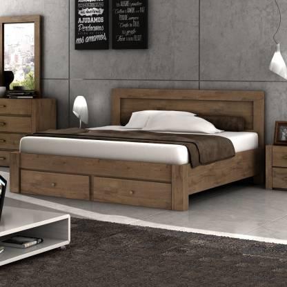 Evok Nicole Engineered Wood King Drawer Bed