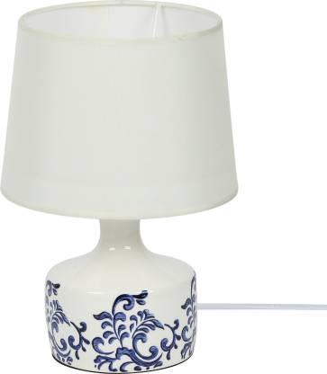 Aapno Rajasthan Royal Blue Painted, Ceramic Table Lamps India