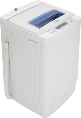 Haier 7 kg Fully Automatic Top Load White