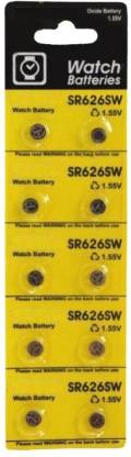 DIVYE SR626SW 1.55v Watch Battery 10-piece Watch Repair Kit
