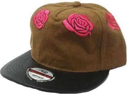 Embroidered Embroidered Black&Grey Colour In Hip Hop Style Cap Embroidered Flower for Mens And Womens Cap cap Cap