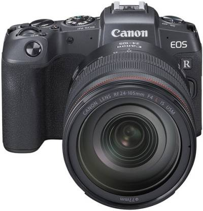 Canon RP Mirrorless Camera Body with single Lens: RF 24 - 105 mm f/4L IS USM