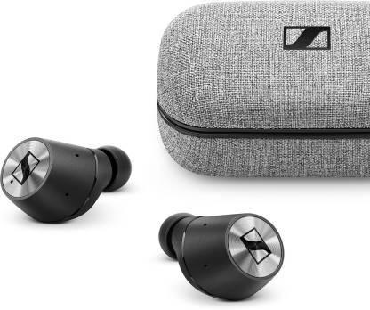 Sennheiser Momentum True Wireless Bluetooth Headset(Silver, Black, True Wireless)