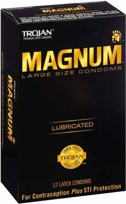 How big do you need to be for magnum condoms
