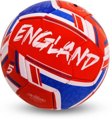 Nivia WORLD FEST  ENGLAND  Football   Size: 5 Pack of 1, Red  Nivia Footballs