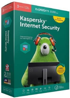 KASPERSKY Internet Security 3 User 3 Years