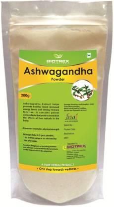 BIOTREX NUTRACEUTICALS Ashwagandha Herbal Powder