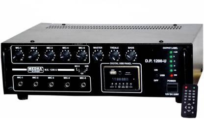 MEDHA D.J. PLUS USB-1200USB 120 W AV Power Amplifier