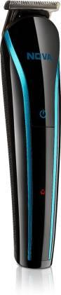 Nova NHT 1073-00 USB Runtime: 60 min Trimmer for Men (Black, Blue)