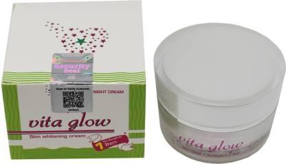 vita glow Glutathione Night Cream with Security Seal