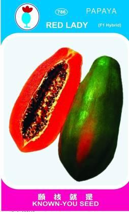 Pearl red lady 786 taiwan papaya seeds Seed