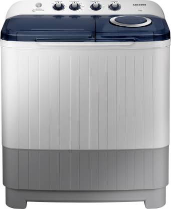 Samsung 7.5 kg Semi Automatic Top Load White, Blue, Grey