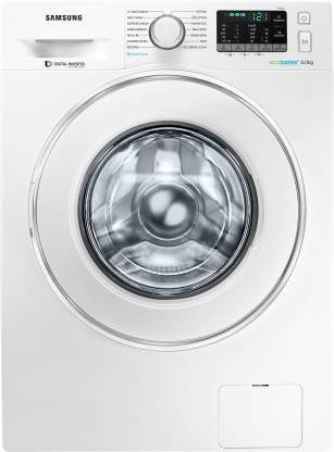 SAMSUNG 8 kg Fully Automatic Front Load with In-built Heater White