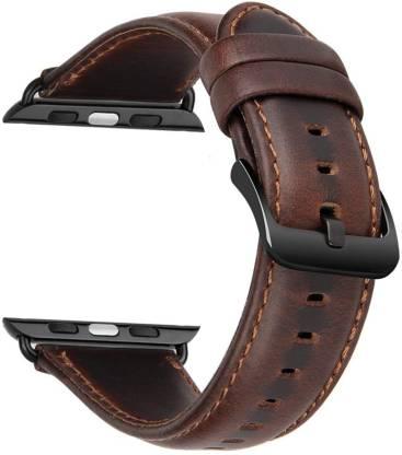 Case U Genuine Leather Strap for Watch 42/44mm Series Smart Watch Strap