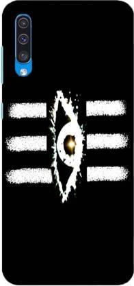 NDCOM Back Cover for Samsung Galaxy A50 Lord Shiva Third Eye Printed