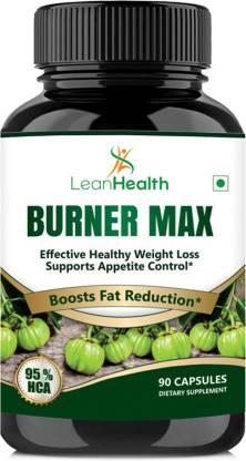 LeanHealth Burner Max Garcinia Cambogia Extract - 95% Hca 90 Capsules For Weight Management
