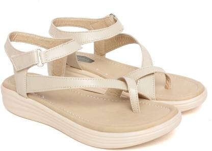 Dainty Women Beige Wedges