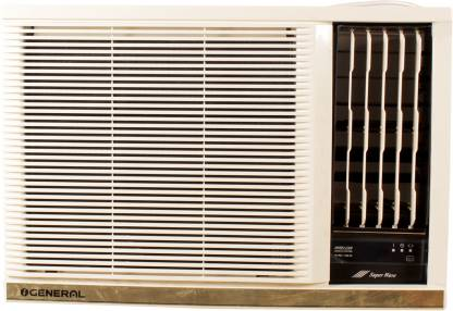O General 1.5 Ton 3 Star Window AC   White